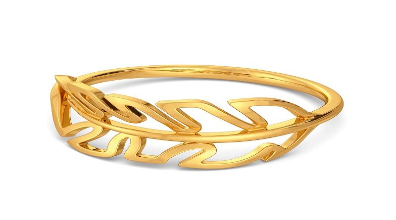 Kalyan Jewellers Gold Ring Design With